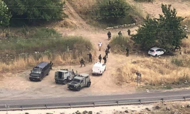 بالصور و الفيديو .. استشهاد فلسطيني بزعم تنفيذ عملية دهس قرب رام الله