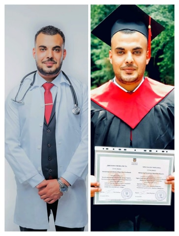 الدكتور مهند السرحان مبارك التخرج