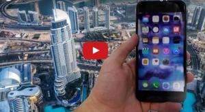 """بالفيديو شاب يقوم بإلقاء آيفون 7 من أعلى بناية بالعالم  """"الطابق 148"""" .. فماذا كانت النتيجة ؟"""