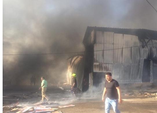 خسائر بالملايين - الاحتلال يتسبب بحرق حسبة بيتا