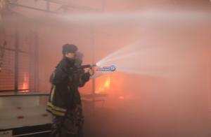 """تطورات جديدة بحادث """"حريق 16 محلاً تجارياً"""" بمجمع رغدان  ..  متى ستنتهي التحقيقات؟  ..  صور و فيديو"""