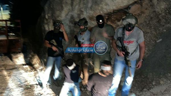 الاحتلال يعتقل الأسيرين زكريا الزبيدي ومحمد العارضة  ..  صور