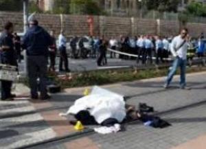 دهس شرطية إسرائيلية في تل ابيب والشرطة تعتقل فلسطينيين