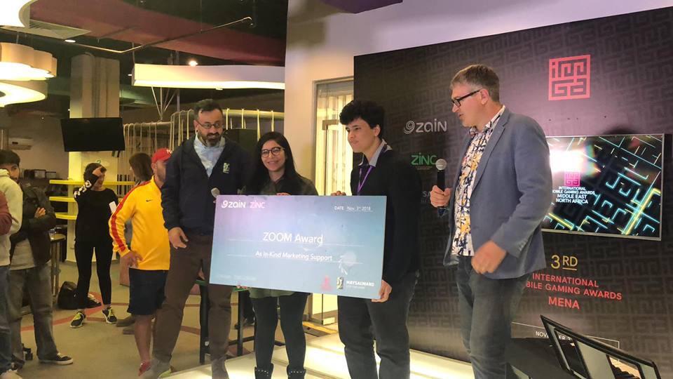 زين تُعلن أسماء الفائزين بالمسابقة العالمية لألعاب الهواتف المتنقلة في منطقة الشرق الأوسط وشمال افريقيا(IMGA)