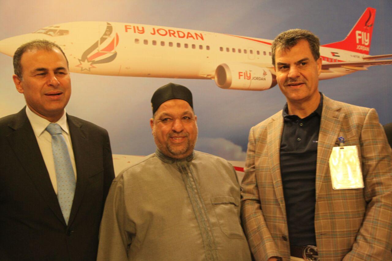 طيران فلاي جوردن يحلق في الملتقى الدولي التاسع عشر للسياحة العربية والدينية