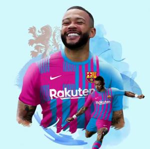 انتقال ديباي إلى برشلونة رسميا