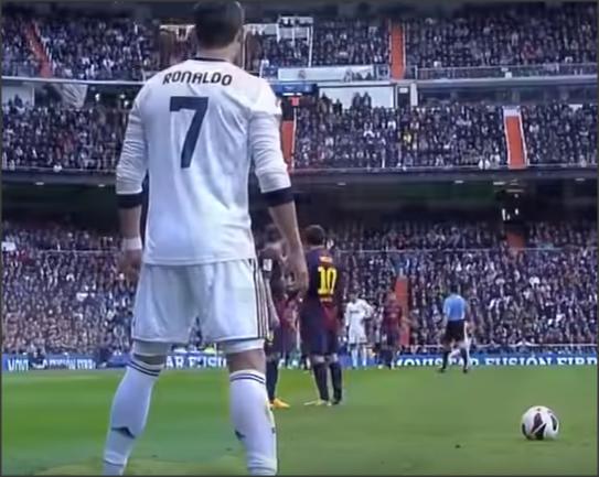 يالفيديو .. كريستيانو عندما يلعب يغير مصير المباراة للفوز