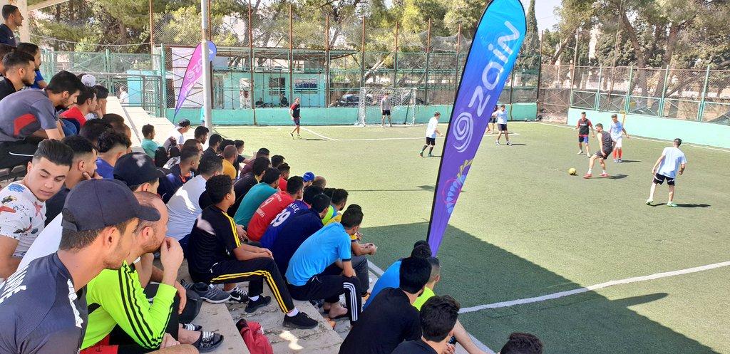 بالتعاون مع جامعة اليرموك زين تقيم بطولتها لكرة القدم الخماسية للشمال