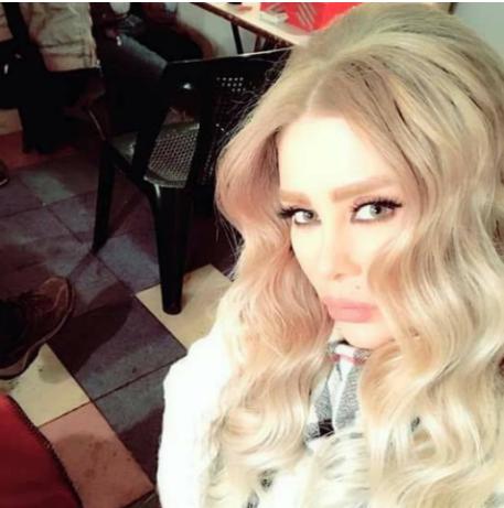 """بالصور  ..  ممثلة سورية تطلق شتائم من العيار الثقيل ضد من وصفتها بـ""""السحلية""""!"""