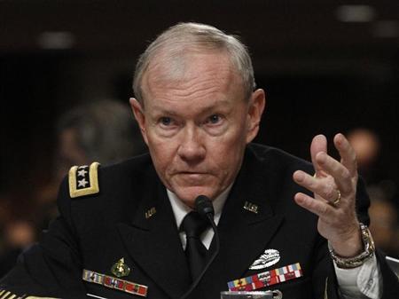 رئيس الاركان الامريكي أيد فكرة تسليح مقاتلي المعارضة في سوريا