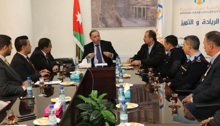 """دورة للأمن الجامعي في """"عمان العربية"""" للارتقاء بالاداء"""