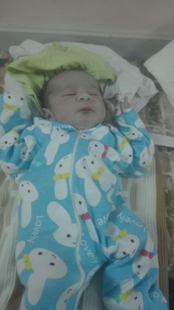 سعد الحنيطي مبارك المولود الجديد