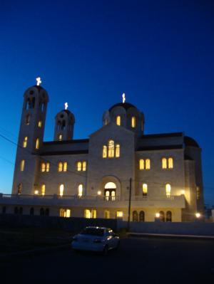 هتاف : الشعب غير مستحق بدلاً من يارب في كنيسة الصعود للروم الارثوذكس