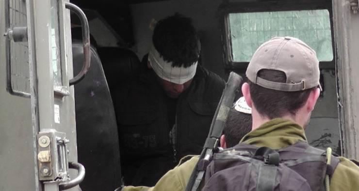 اعتقال شاب من عائلة الجعيدي داخل مخيم الدهيشة