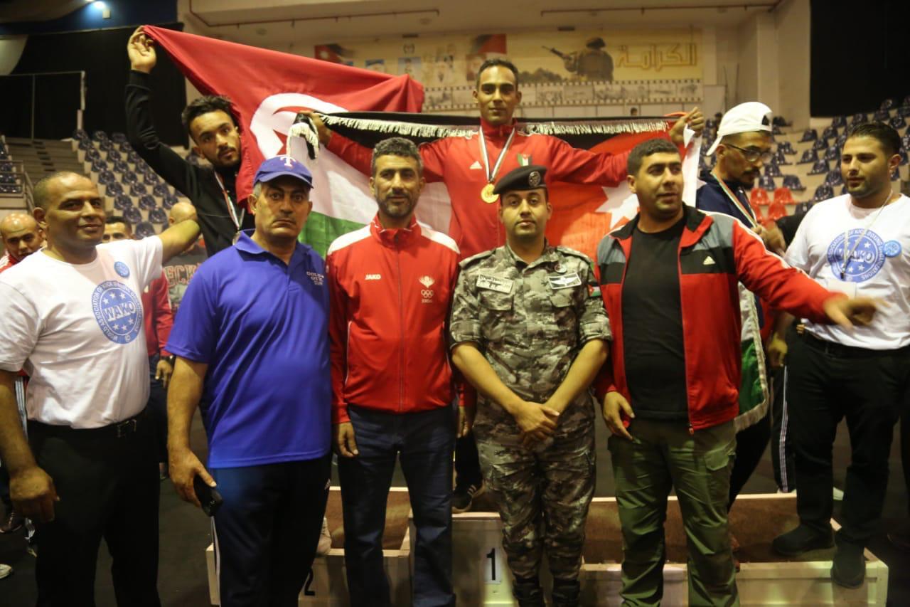 """""""نشامى الدرك"""" يحصدون الذهب في البطولة العربية للكيك بوكسينغ ويستعدون لبطولة العالم"""