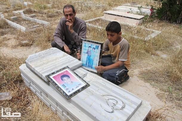 والد الدرة : إذا كان محمد حياً  ..  فمن يرقد في هذا القبر ؟!