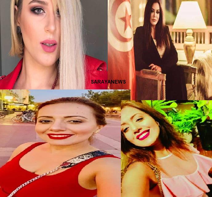 """بالصور  ..  ابرز المرشحات لرئاسة تونس يثرن الجدل بسبب لباسهن  ..  واحداهن """"راقصة"""""""