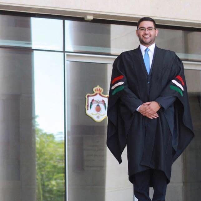 تهنئة بتعيين القاضي رامز العزازي قاضيا في محكمة عمان الابتدائية