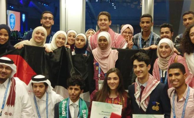 """6 طلاب أردنيين يتفوقون في """"انتل العالمية"""""""