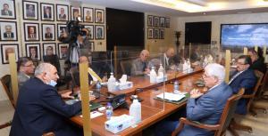 لجنة الطاقة والثروة المعدنية في مجلس الأعيان تطلع على واقع وإنجازات شركة مناجم الفوسفات الأردنية