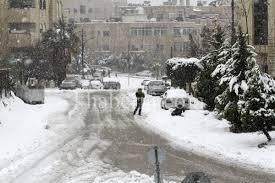طقس العرب :تجدد هطول الثلوج بعد منتصف الليل حتى فجر الخميس