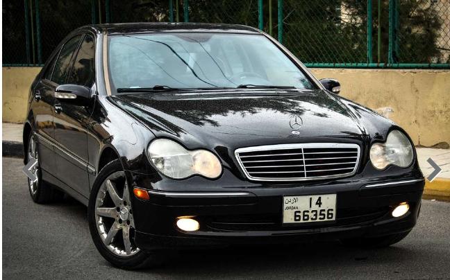 Mercedes C230 2003 / بحالة الوكالة