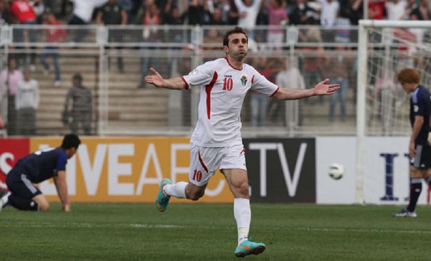 اللاعب الاردني احمد هايل يعتزل كرة القدم