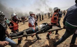 4 شهداء ومئات الجرحى في مواجهات مع الاحتلال على حدود غزة