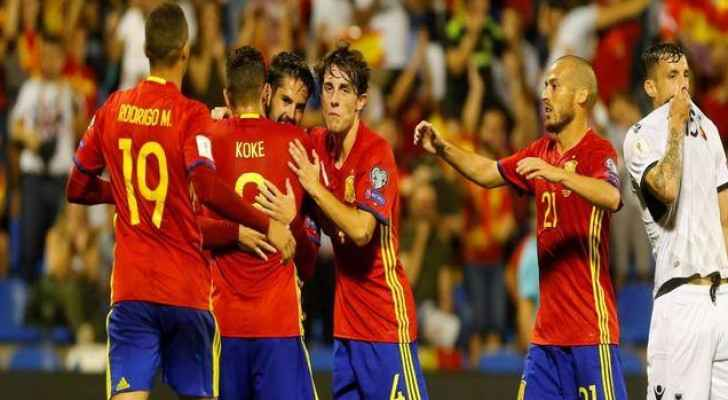إسبانيا تتأهل إلى مونديال روسيا بعد ثلاثية في مرمى ألبانيا