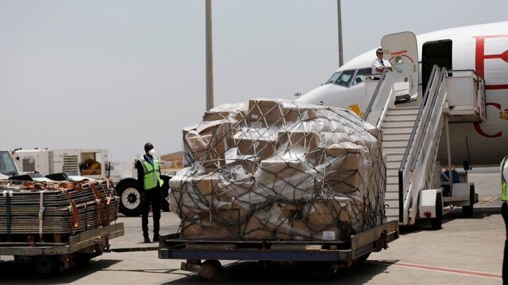 ووهان الصينية ترسل طائرة إمدادات طبية إلى نيويورك