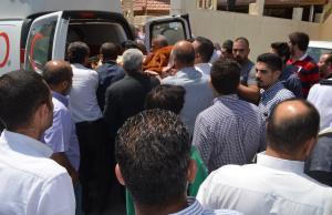 أمراء و حشود غفيرة تُشيع جثمان الشيخ عبدالعزيز العفيشات العجارمة