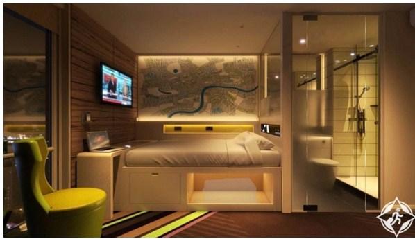 """بالصور ..  فندق آخر للتكنولوجيا """"هاب هوتيل"""" في لندن"""