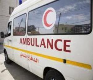 المفرق : إصابة 5 في حادث تصادم