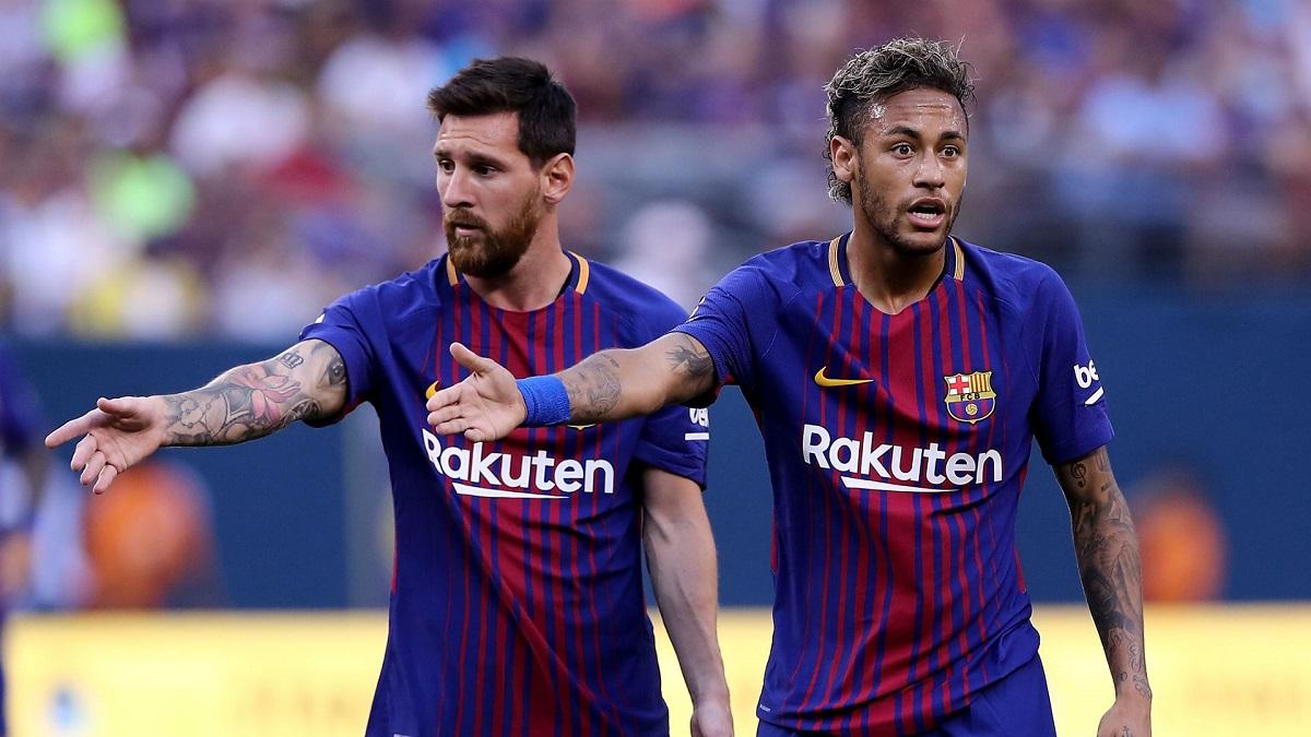 ميسي: نيمار يريد العودة إلى نادي برشلونة