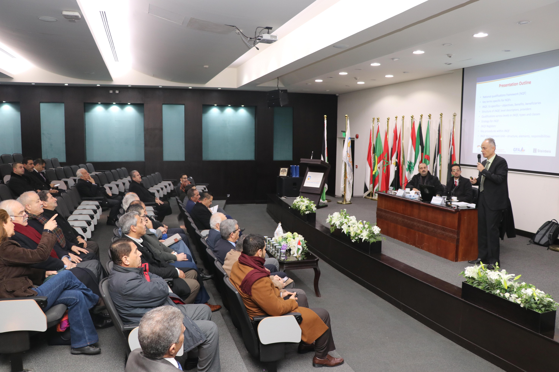 """""""عمان العربية"""" تطلع على الاطار الوطني للمؤهلات في المملكة"""