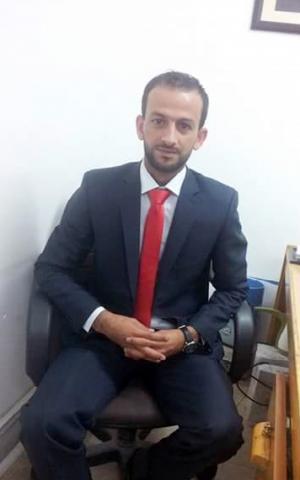 """تهنئة لـ""""محمد خريسات"""""""