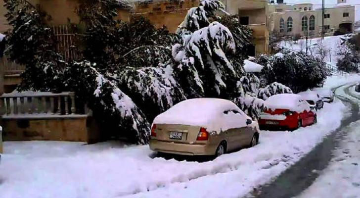 """خبير عربي يتنبأ بمنخفض جوي """"كارثي"""" يضرب الاردن و تساقط للثلوج على هذه المرتفعات ..  تفاصيل"""