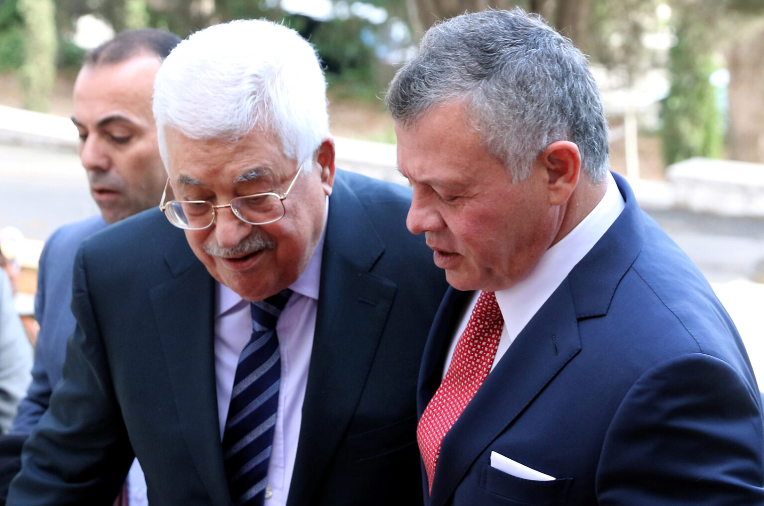 الملك وعباس يتفقان على التحرك المشترك لوقف الاعتداءات على القدس