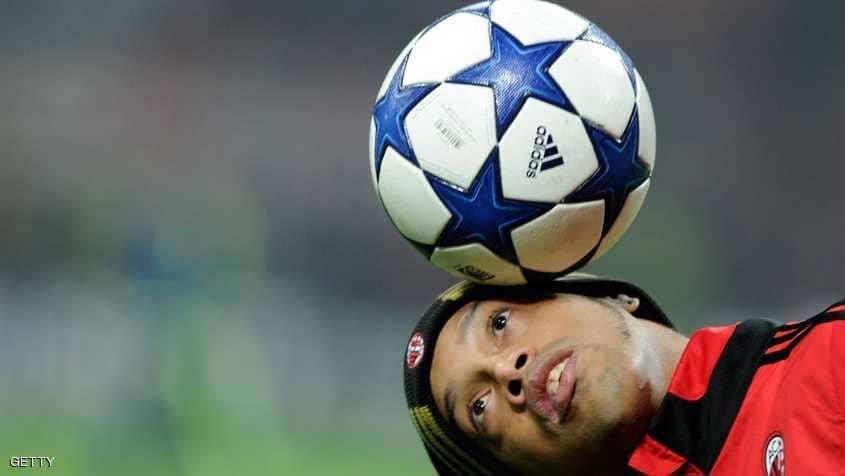 رسميا ..  اعتزال اللاعب البرازيلي رونالدينيو