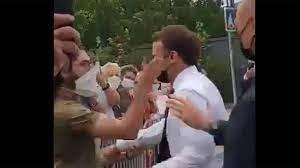 ماكرون: حادثة صفعي فردية ويقف خلفها أفراد متطرفون يمينيون