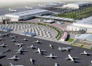 الإعلان عن  إقامة مطار ضخم شرق مدينة المفرق لإعادة إعمار سوريا و العراق   ..  تفاصيل