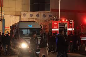 اصابتين بحريق مول بمحافظة اربد