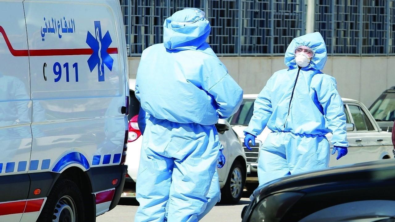 10 وفيات و582 إصابة بكورونا ..  وارتفاع في إيجابية الفحوصات
