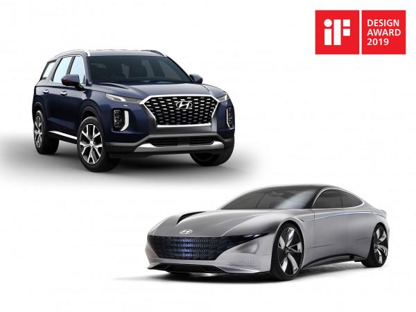 """هيونداي موتور تحصد جائزتين من جوائز """"آي إف ديزاين 2019"""" للتصميم"""