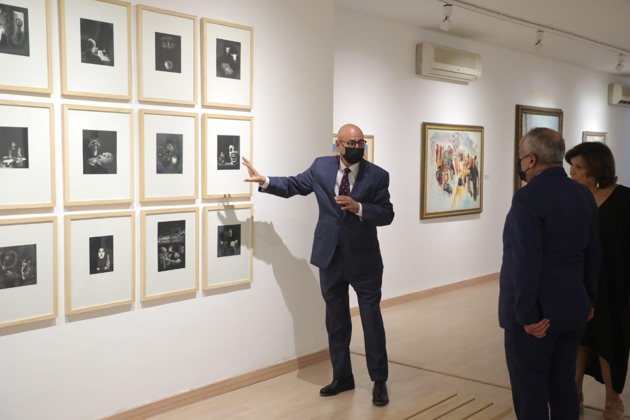 وزير الثقافة يزور المتحف الوطني للفنون الجميلة