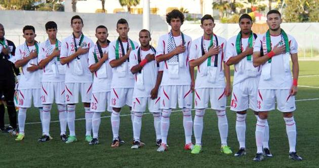 منتخب الكرة الأولمبي يلاقي الكويت غدا