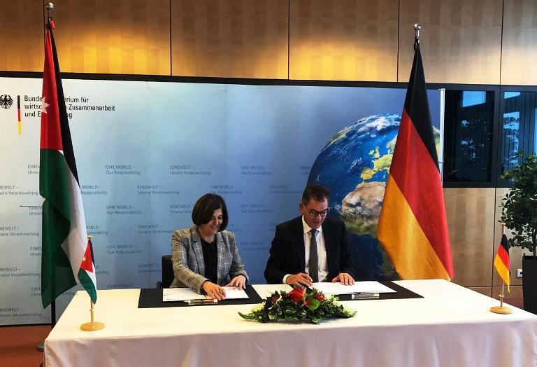 مساعدات تنموية المانية جديدة للأردن بقيمة 462.12 مليون يورو