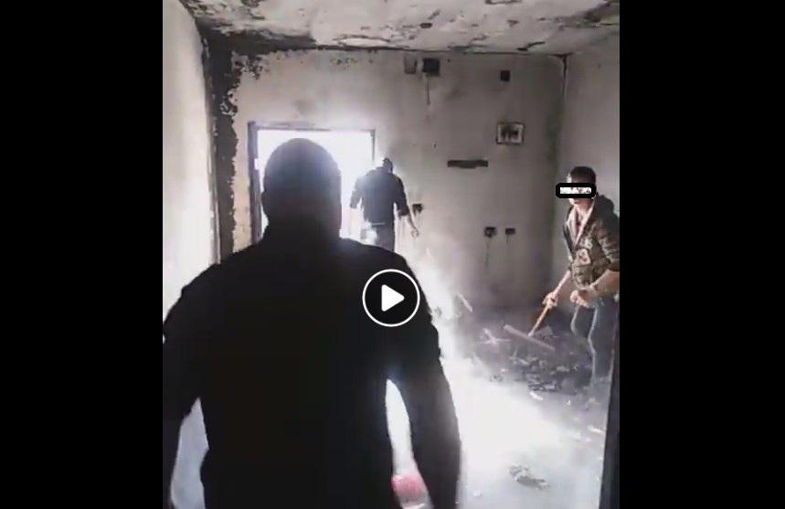 بالفيديو  ..  حريق يلتهم منزلا بالكامل في جرش ويتسبب بتشرد قاطنيه