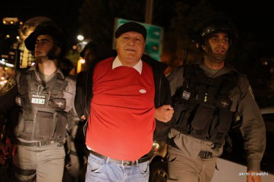 """بالفيديو : قمع قوات الاحتلال مسيرة """"برافر لن يمر"""" في باب الساهرة بالقدس"""