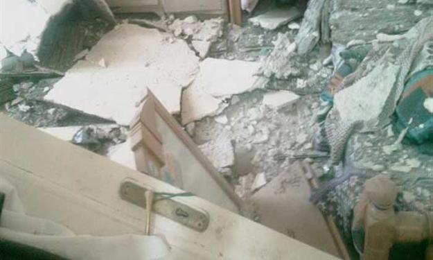 الرمثا : إخلاء أسرة انهار جزء من منزلها في الشلالة